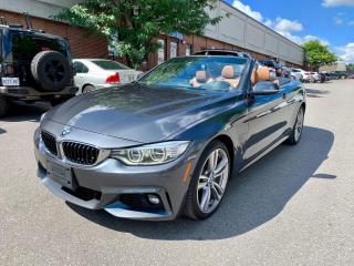 Used 2016 BMW 4 Series 2dr Conv 435i xDrive AWD, M PACKAGE, for sale in North York, ON