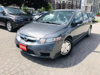 Used 2009 Honda Civic 4dr Auto DX-G for sale in Markham, ON