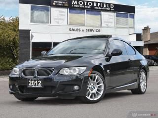 Used 2012 BMW 3 Series 328i xDrive AWD Coupe M Sport *One Owner, 6 Speed, Navi* for sale in Scarborough, ON