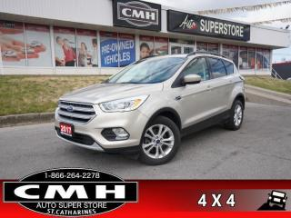 Used 2017 Ford Escape SE  4X4 CAM P/SEAT HS BT PARK-SENS for sale in St. Catharines, ON