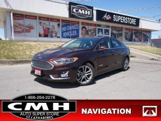 Used 2019 Ford Fusion Hybrid Titanium  HYBRID NAV ROOF CS P/SEATS MEM for sale in St. Catharines, ON