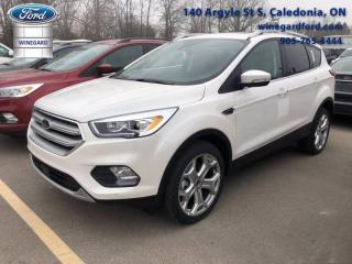 Used 2019 Ford Escape Titanium for sale in Caledonia, ON