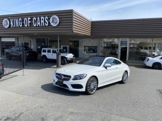 Used 2017 Mercedes-Benz C-Class C300 4MATIC Coupe AUTONOMOUS BRAKING for sale in Langley, BC
