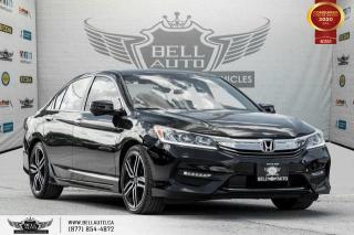 Used 2016 Honda Accord Sedan Sport w/Honda Sensing, REAR CAM, B.SPOT CAM for sale in Toronto, ON