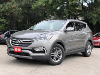 Used 2018 Hyundai Santa Fe Sport Luxury |LEATHER |NAVIGATION | PANOROOF |AWD for sale in Stoney Creek, ON