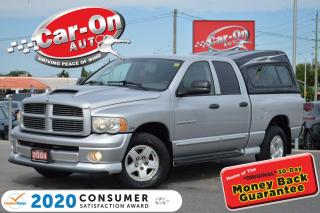 Used 2004 Dodge Ram 1500 SLT/Laramie 5.7L HEMI 4X4 LEATHER TOW PKG HTD SEAT for sale in Ottawa, ON