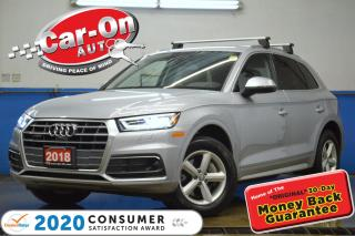 Used 2018 Audi Q5 2.0T Technik AWD LEATHER NAV PANO ROOF ADAPTIVE CR for sale in Ottawa, ON