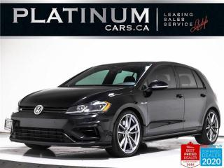 Used 2018 Volkswagen Golf R 292HP, DSG, NAV, CAM, BLUETOOTH, HEATED, LEATHER for sale in Toronto, ON
