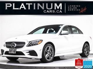 Used 2019 Mercedes-Benz C-Class C300 4MATIC, AWD, NAV, CAM, PANO, HEATED SEATS for sale in Toronto, ON