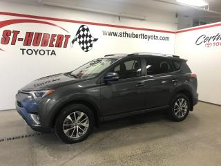 Used 2016 Toyota RAV4 Hybrid HYBRIDE, XLE for sale in St-Hubert, QC