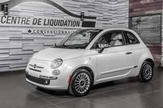 Used 2012 Fiat 500 Lounge CUIR+GR,ÉLECT+A/C for sale in Laval, QC