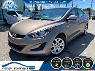 Used 2015 Hyundai Elantra GL, BANCS CHAUFFANTS, BLUETOOTH, A/C, AU for sale in Blainville, QC