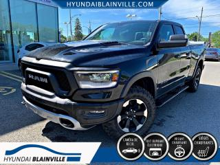 Used 2019 RAM 1500 Rebel Quad Cab 4x4 6 pi 4 po for sale in Blainville, QC