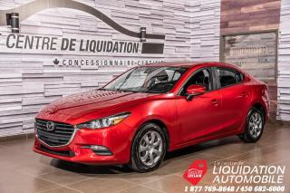 Used 2018 Mazda MAZDA3 GX GR. ÉLECT+AIR CLIM! for sale in Laval, QC