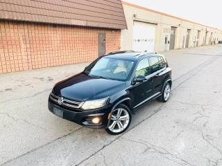 Used 2013 Volkswagen Tiguan HIGHLINE | R LINE | NAVI | CAM for sale in Burlington, ON