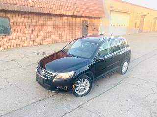 Used 2009 Volkswagen Tiguan Highline for sale in Burlington, ON