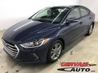 Used 2017 Hyundai Elantra GL MAGS A/C CAMÉRA BLUETOOTH *Bas Kilométrage* for sale in Shawinigan, QC