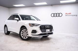 New 2020 Audi Q3 Komfort w/Convenience Package *DEMO* for sale in Winnipeg, MB