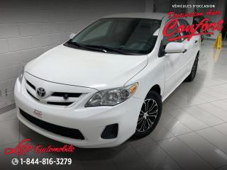 Used 2012 Toyota Corolla CE **NOUVEL ARRIVAGE** for sale in Chicoutimi, QC