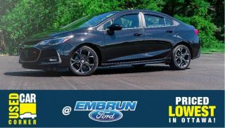 Used 2019 Chevrolet Cruze LT for sale in Embrun, ON