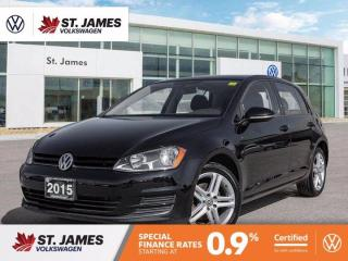 Used 2015 Volkswagen Golf Trendline 1.8TSI, Heated Seats, Bluetooth for sale in Winnipeg, MB