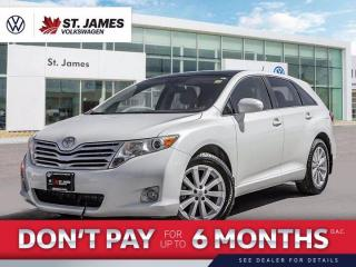Used 2011 Toyota Venza Bluetooth, Sunroof, Cruise Control for sale in Winnipeg, MB