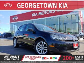 Used 2010 Volkswagen Golf 2.5 | HB | TRENDLINE | ROOF | CLEAN CARFAX | 112K for sale in Georgetown, ON