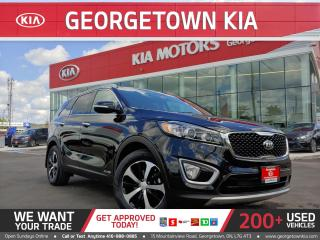 Used 2017 Kia Sorento EX+ AWD | ROOF | V6 | 7-Seater | BU CAM | LEATHER for sale in Georgetown, ON