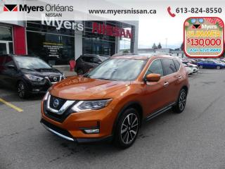 Used 2017 Nissan Rogue SL Platinum  - Sunroof -  Navigation - $172 B/W for sale in Orleans, ON