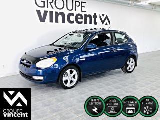 Used 2009 Hyundai Accent SPORT AUTOMATIQUE + TOIT OUVRANT Avec l?Accent, obtenez un espace intérieur étonnant et un style remarquable! for sale in Shawinigan, QC