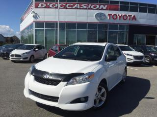 Used 2014 Toyota Matrix TOURING **AUTO/AIR/MAGS/TOIT OUVRANT** for sale in St-Eustache, QC