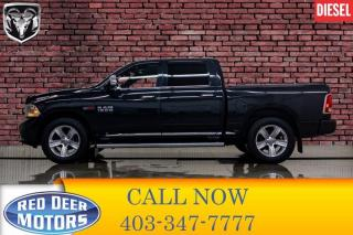 Used 2016 RAM 1500 4x4 Crew Cab Limited EcoDiesel Leather Roof Nav for sale in Red Deer, AB