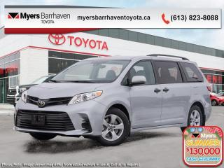 New 2020 Toyota Sienna 7-Passenger  -  Apple CarPlay - $226 B/W for sale in Ottawa, ON