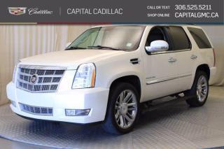 Used 2012 Cadillac Escalade Platinum AWD*LEATHER*SUNROOF* for sale in Regina, SK