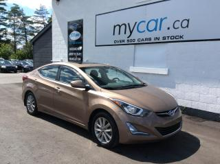 Used 2016 Hyundai Elantra Sport Appearance SUNROOF, HEATED SEATS, ALLOYS, BACKUP CAM!! for sale in Richmond, ON