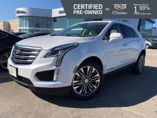 Used 2018 Cadillac XT5 Premium Luxury AWD | Heated & Cooled Seats for sale in Winnipeg, MB