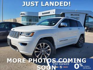 Used 2017 Jeep Grand Cherokee Overland 4WD | Air Suspension | Navigation for sale in Winnipeg, MB