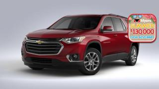 New 2020 Chevrolet Traverse LT True North  - Sunroof for sale in Orleans, ON