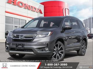 New 2021 Honda Pilot Touring 8P APPLE CARPLAY™ & ANDROID AUTO™ | IDLE STOP | BLU-RAY™ ENTERTAINMENT SYSTEM for sale in Cambridge, ON