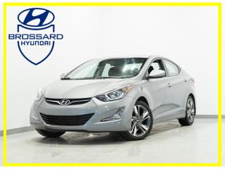 Used 2016 Hyundai Elantra GLS MAGS BLUETOOTH CRUISE TOIT OUVRANT AUTO for sale in Brossard, QC