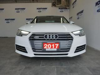 Used 2017 Audi A4 QUATTRO   LEATHER   SUNROOF   NAV   59 KM! for sale in Brantford, ON