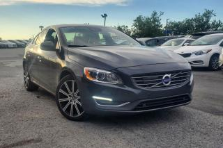 Used 2015 Volvo S60 PLATINUM T6 AWD CUIR TOIT MAGS 18P NAV for sale in St-Hubert, QC