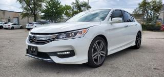 Used 2017 Honda Accord Sedan Sport Honda Sensing|1 Owner|Back up Camera for sale in Scarborough, ON