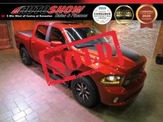Used 2017 RAM 1500 Sport *Sunroof! LOADED, 4x4 Crew, Htd Sts* for sale in Winnipeg, MB