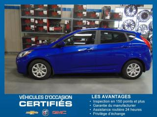 Used 2014 Hyundai Accent GL for sale in Amos, QC