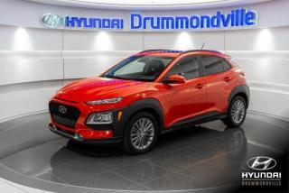 Used 2018 Hyundai KONA LUXURY + GARANTIE + CAMERA + TOIT + A/C for sale in Drummondville, QC