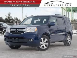 Used 2014 Honda Pilot Touring NAVIGATION | REVERSE CAM | DVD ENTERTAINMENT | LEATHER for sale in Stittsville, ON