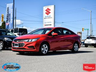 Used 2016 Chevrolet Cruze LS ~Backup Camera ~Power Windows + Locks ~A/C for sale in Barrie, ON