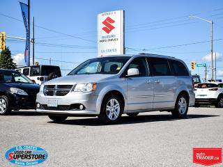 Used 2012 Dodge Grand Caravan Crew ~Full Stow 'N Go ~Power Seat ~Fog Lamps for sale in Barrie, ON