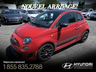 Used 2012 Fiat 500 ABARTH + GARANTIE + TOIT + CUIR + A/C + for sale in Drummondville, QC